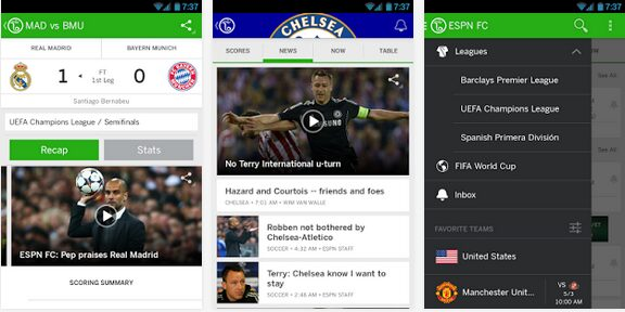 ESPN FC Soccer & World Cup apk android app