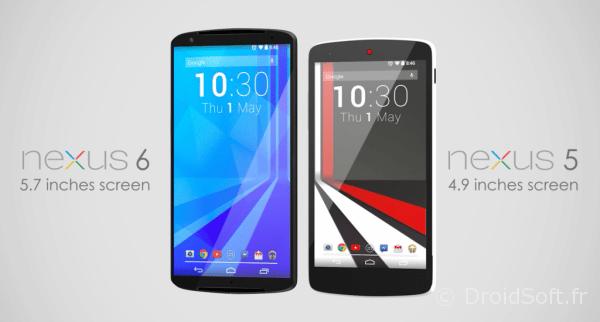 Nexus 6 vs Nexus 5 android