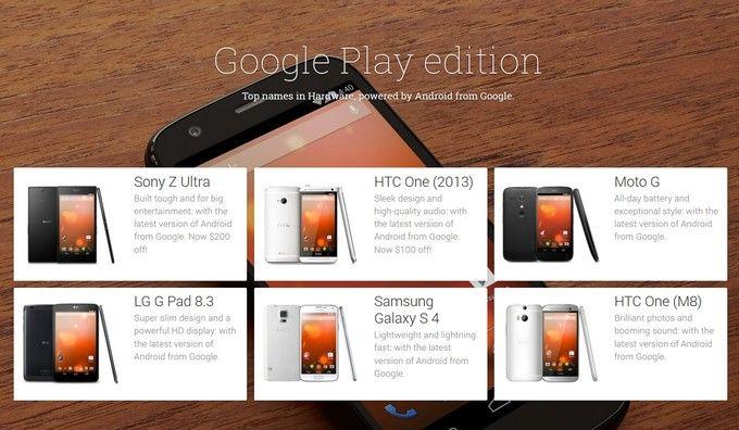 Samsung Galaxy S5 Google Edition