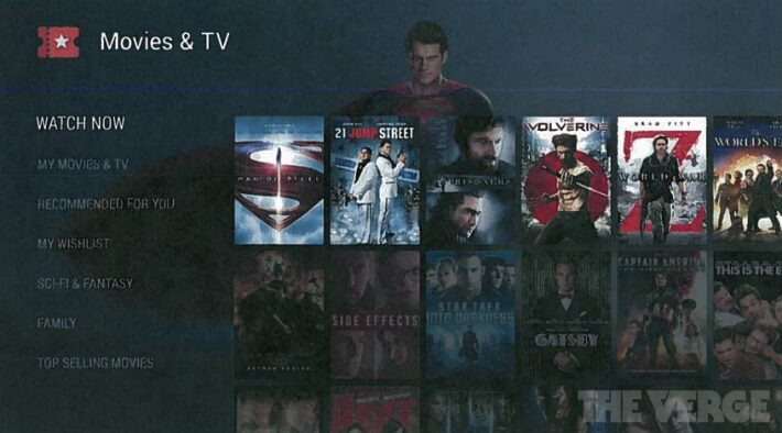 android tv avant