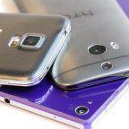 galaxy S5 vs Sony Xperia Z2 vs HTC One 2014 m8