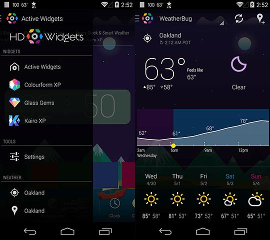 hd widget 4 screen photo apk android app