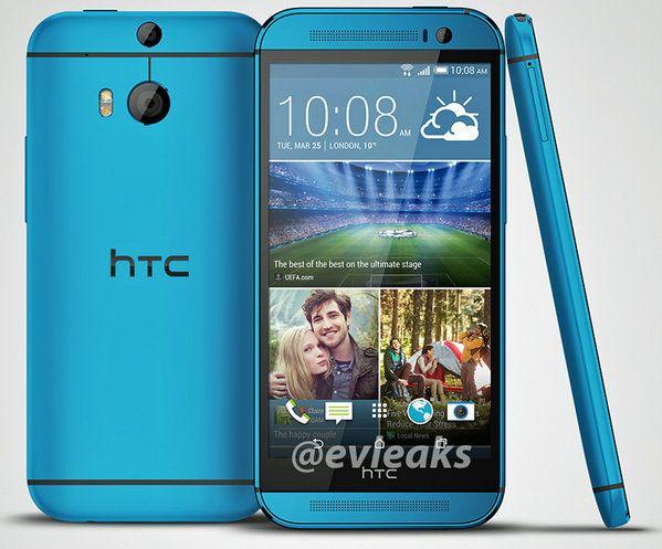 htc one bleu