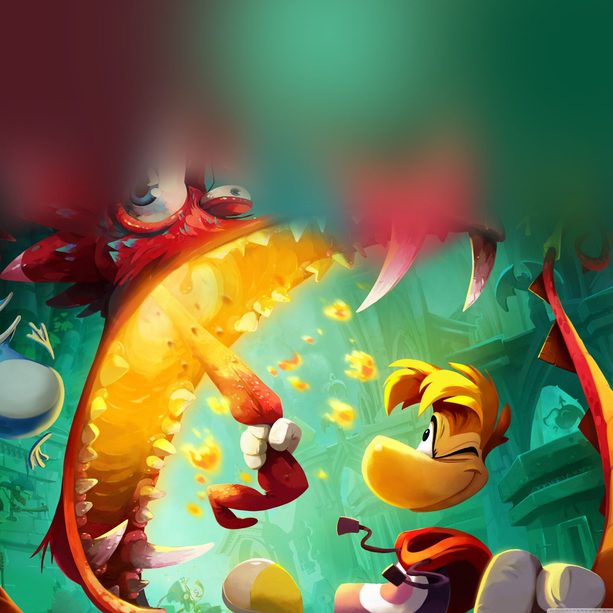 Rayman fond d 39 cran android for Fond ecran android tablette