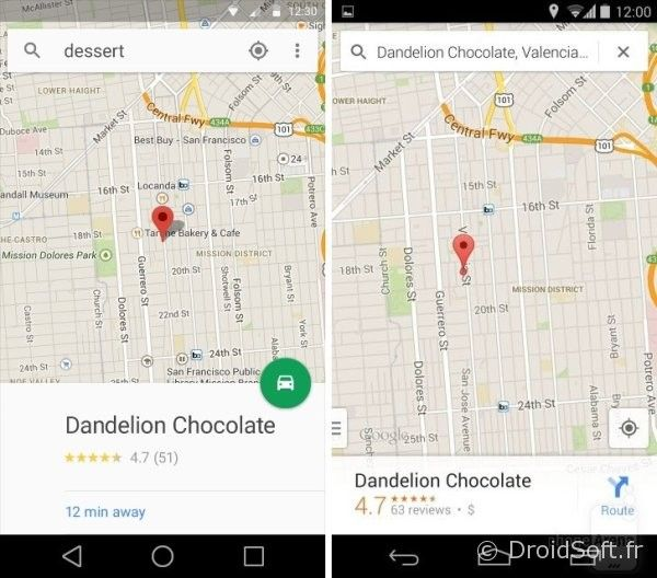 android 5.0 L maps
