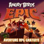 Angry Birds Epic, Angry Birds Epic : Le RPG de Rovio est disponible sur Android