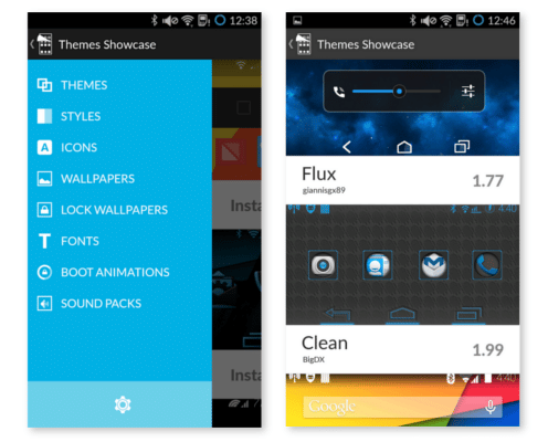 cyanogenmod showcase app theme
