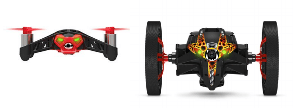 drones parrot spider jumping sumo android