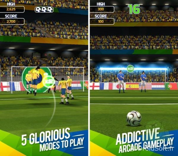 flick-soccer-brazil android