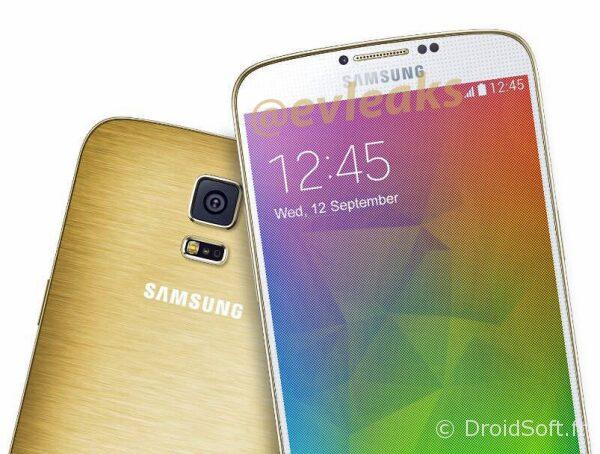 galaxy f s5 prime gold