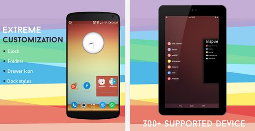 inspire launcher android