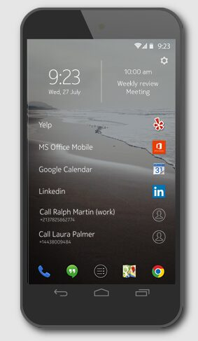 z launcher android nokia