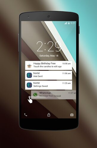 Android L Lockscreen apk
