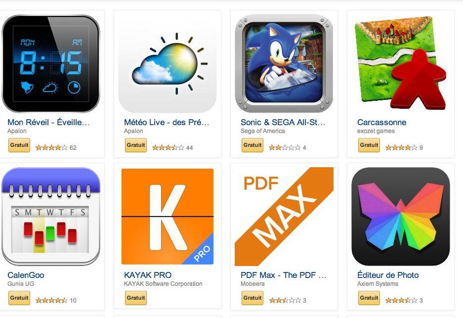 amazon appshop gratuit