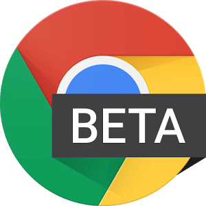 logo  Chrome Beta