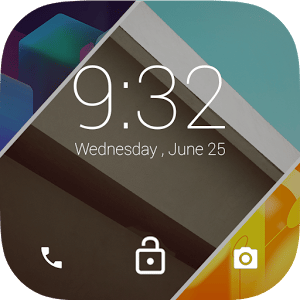 logo  Android L LockScreen