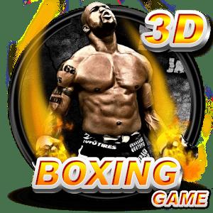 logo  Boxe jeu 3D