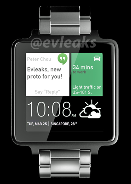htc watch android wear smartwatch