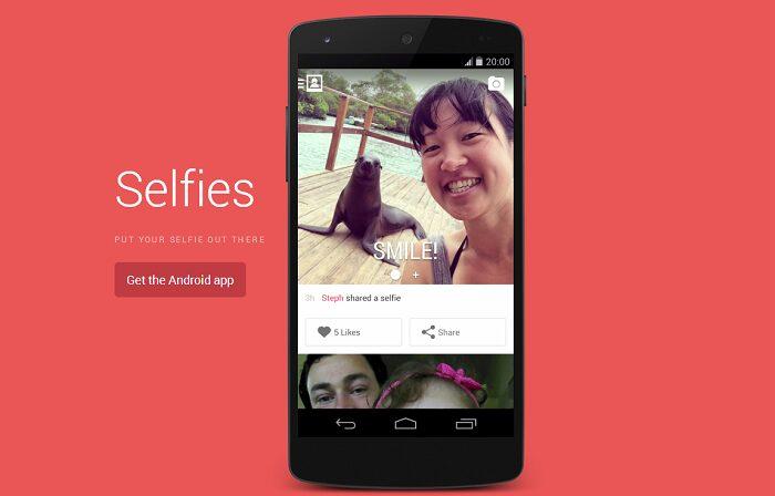selfies google