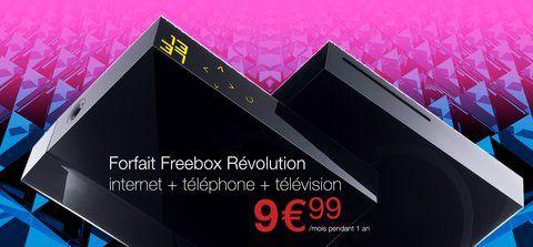 freebox revolution, Promo : La Freebox Révolution à 9,99 € par mois