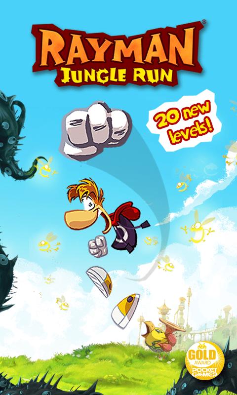 Rayman Jungle Run Screen