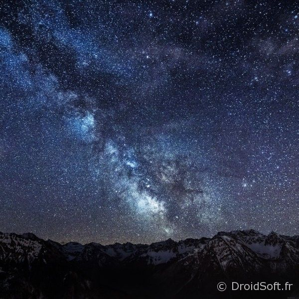 Magnifique ciel de nuit wallpaper hd android fond