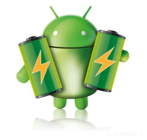android batterie
