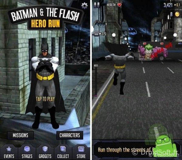 batman-the-flash-hero-run android apk