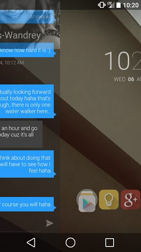 blur launcher apk android