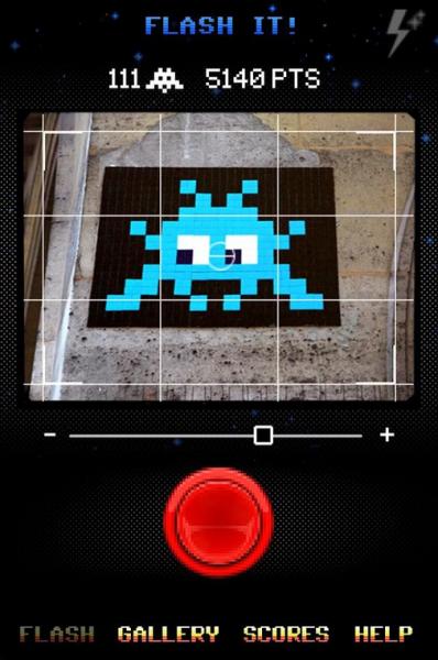 flashInvader android