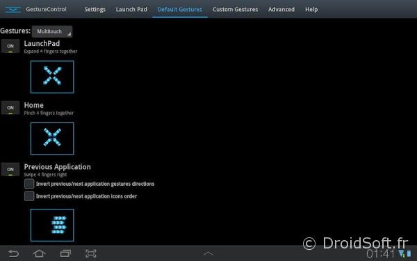 gmd gesture control ipad android apk