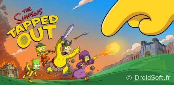 simpsons-tapped-out clash of clan