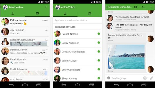android hangouts 2.3