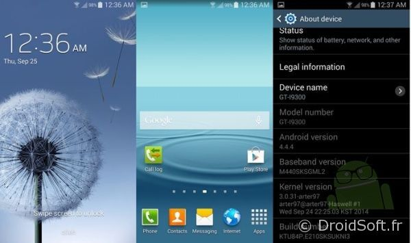 galaxy s3 android 4.4.4 kitkat