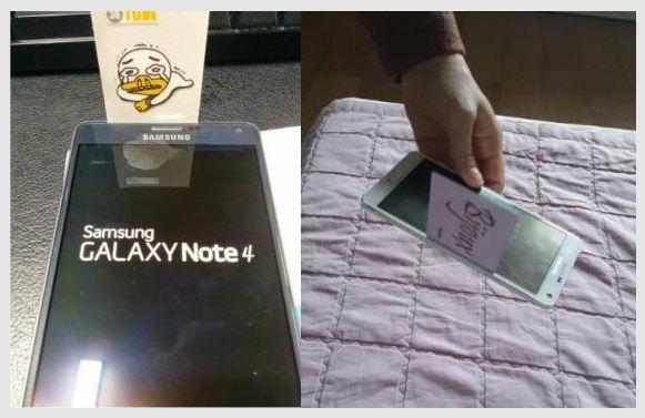 Samsung Galaxy Note 4, Des interstices inquiétants sur le Samsung Galaxy Note 4
