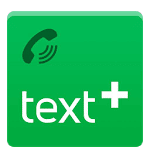 logo  textPlus Free Text + Calls