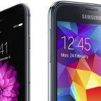 iphone6 galaxys5