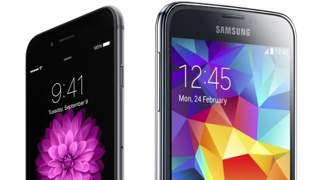 iphone6 galaxys5