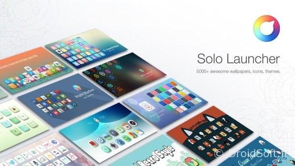 solo launcher app gratuite