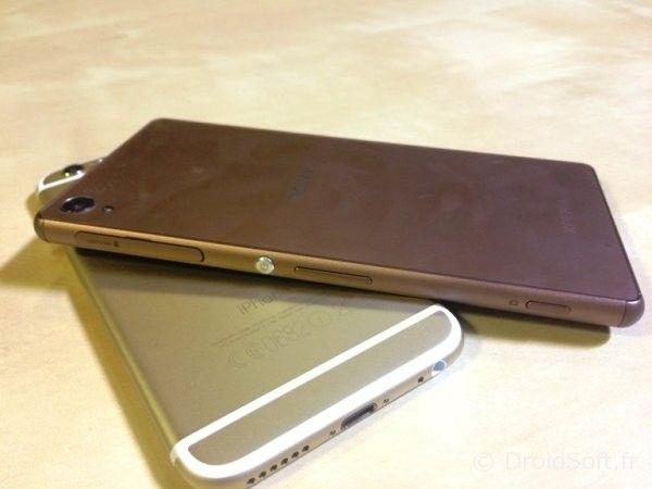 xperia z3 iphone 6 test
