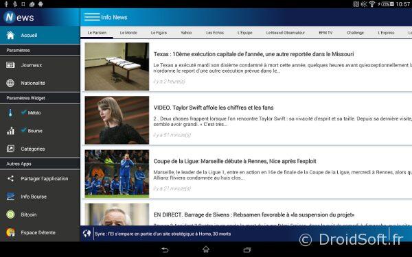 Actualites News et meteo apk