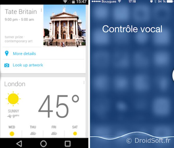 assistant virtuel ios android