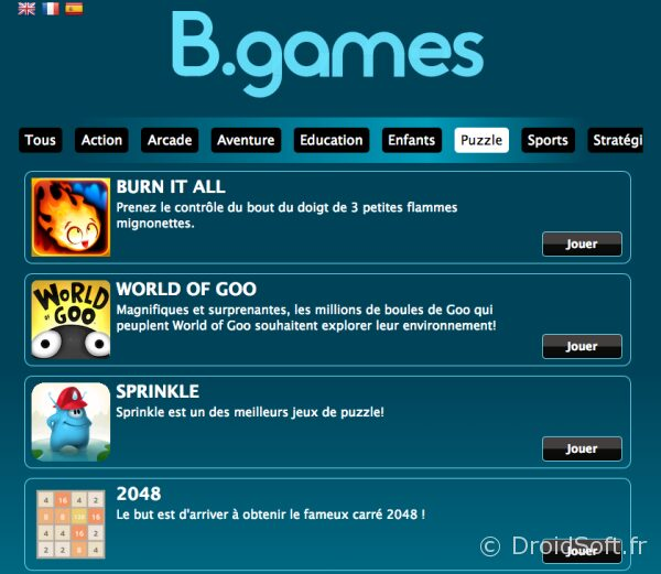 b.games jeu illimite android