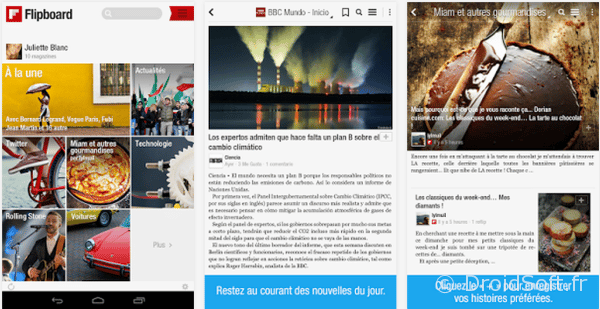 flipboard android v3