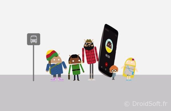 Une manière d'affirmer qu'il y a toujours un téléphone Android qui conviendra pour chaque personnalité… Contrairement à la concurrence, par exemple.