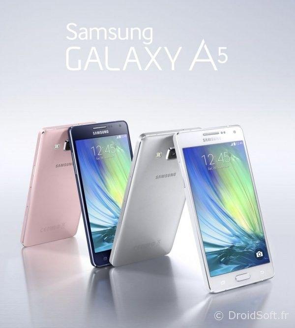 samsung galaxy A5 et A3