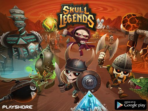 skull legends apk