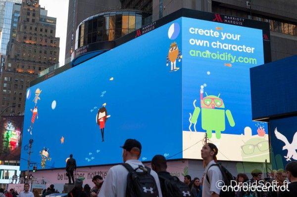 android 5 pub geante