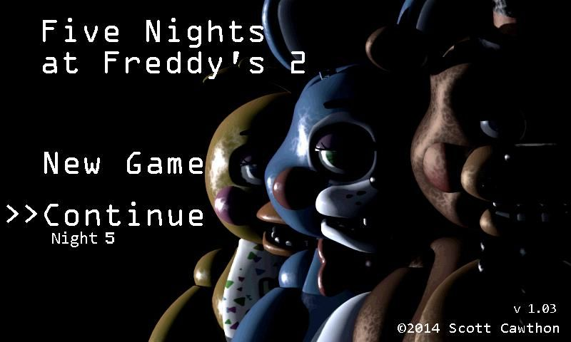 Five Nights at Freddy's 2 va vous effrayer sur Android
