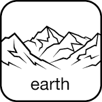 logo  PeakFinder Earth